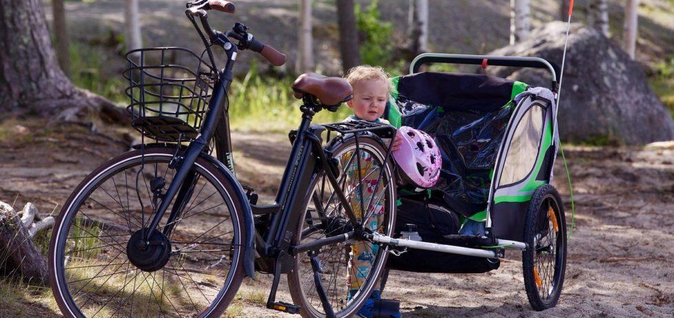 Remorque de vélo